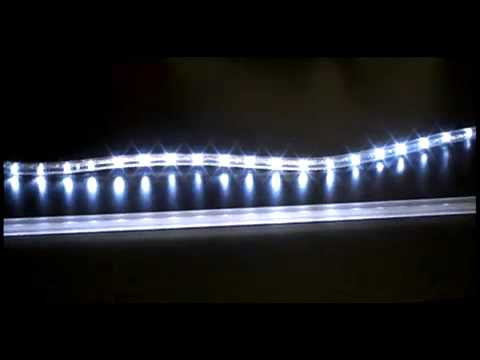 Rope Light Mounting Track Youtube