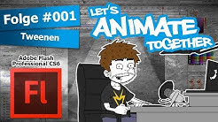 LET'S ANIMATE TOGETHER: Folge#001 Tweenen [Adobe Flash Tutorial] [German] [HD] | Ming-Hatsu