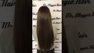 Наращивание волос 65 см 114 грамм