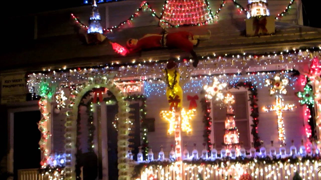 Key West Christmas Lights - YouTube