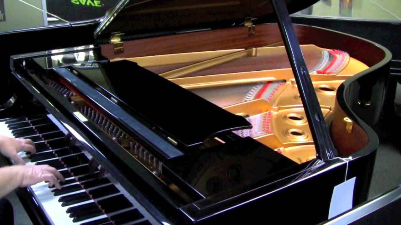 Red Grand Piano Yamaha