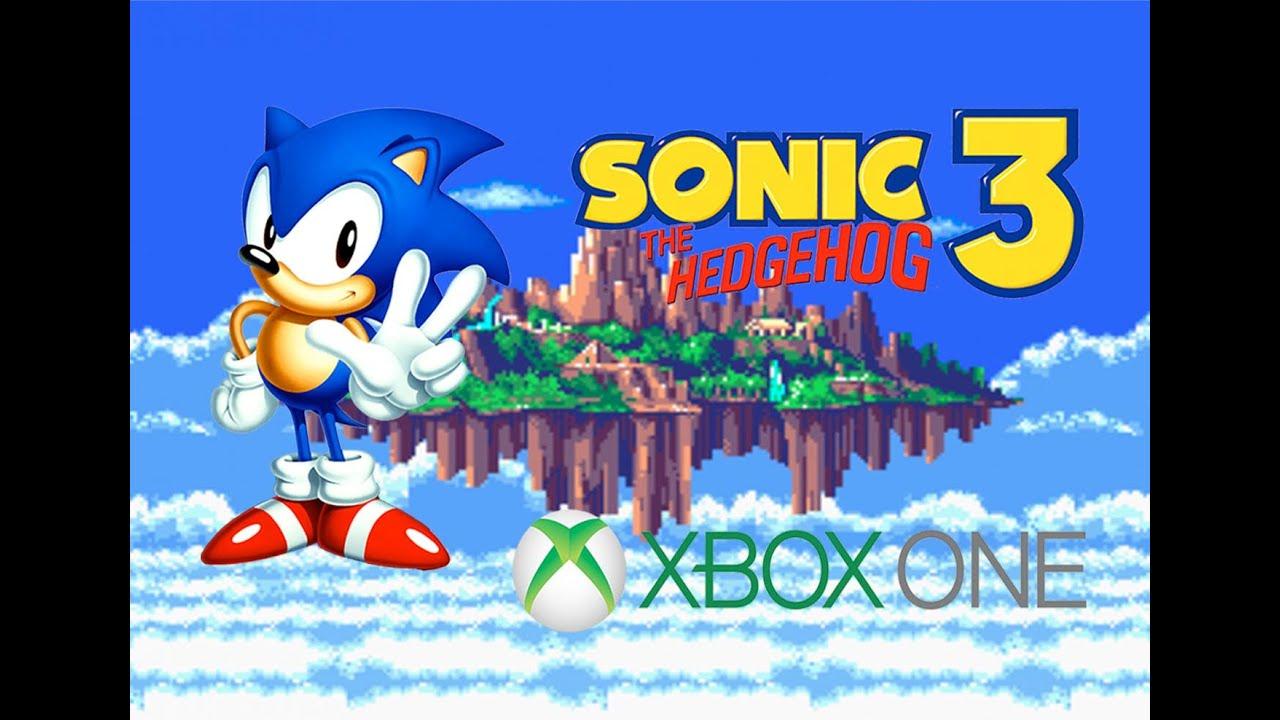 Sonic The Hedgehog 3 Xbox One Backwards Compatibility Gameplay Youtube