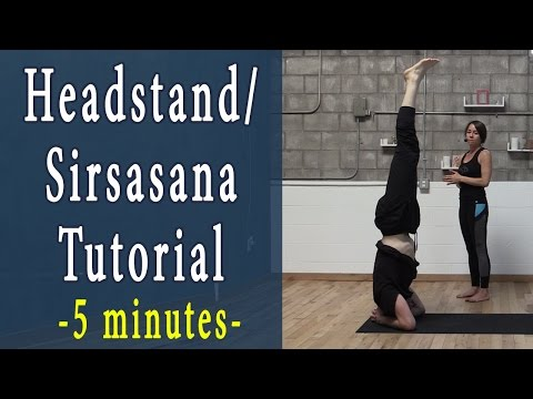 Headstand for beginners | Salamba Sirsasana | Yoga Pose Tutorial
