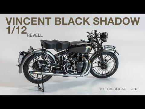 Video Intermission – Vincent Black Shadow Model Assembly