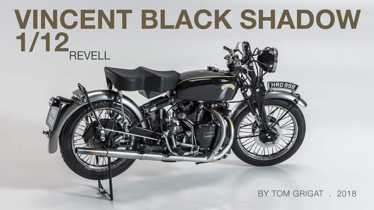 Assembling A Black Shadow Revell 1