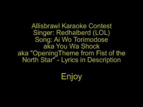 Ai Wo Torimodose / You Wa Shock Cover - Allisbrawl Karaoke Contest