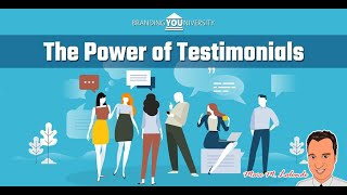 👨‍🏫 The Power of Testimonials