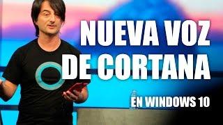 Nueva voz de Cortana en las Builds de Windows 10 de 2015