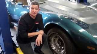 Classic Car 1976 Corvette Repair