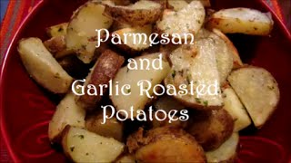 Parmesan And Garlic Roasted Potatoes Recipe