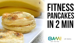 Fitness Pancakes In 2 Minuten (low Carb, Simpel, Diät)