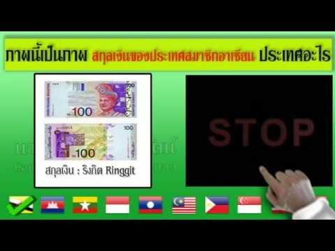 เกมทายภาพสกุลเงินประเทศสมาชิกอาเซียน
