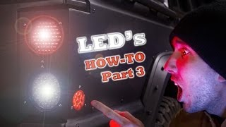 Led Tail Lights - How To Wire Them, Part 2 Of 3