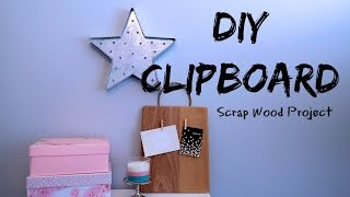 DIY CLIPBOARD, Arts & Crafts
