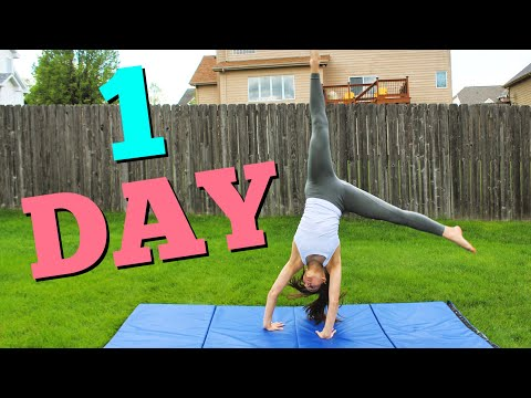How to get your Cartwheel in ONE DAY