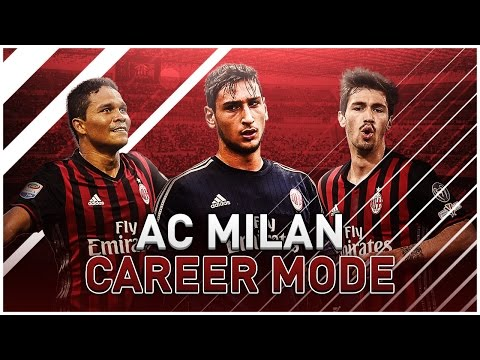 FIFA 17   AC MILAN CAREER MODE   S1E9   FIRST vs SECOND! Youth, objectives, transfers!