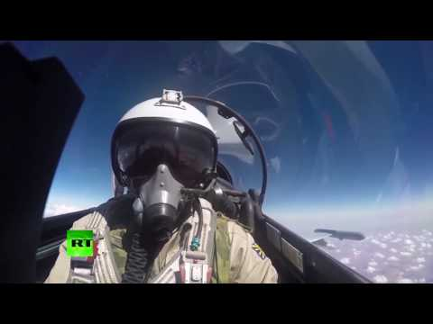 Russian Air Force in Syria - Airstrike Cam Compilation