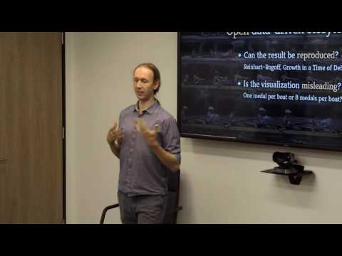 Fellow Short Talks: Dr Tomas Petricek, The Alan Turing Institute