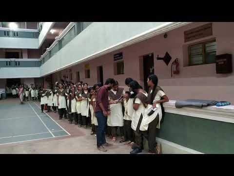 Anchor Lambo Kanna Interaction With Aditya School Children At Pondicherry