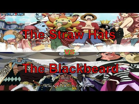 The Straw Hats vs The Blackbeard Pirates! Who VS who?| Hypothesis | One Piece
