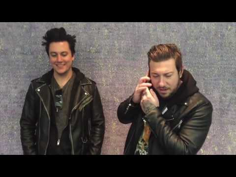 Synyster Gates & Zacky Vengeance tour liner outtakes