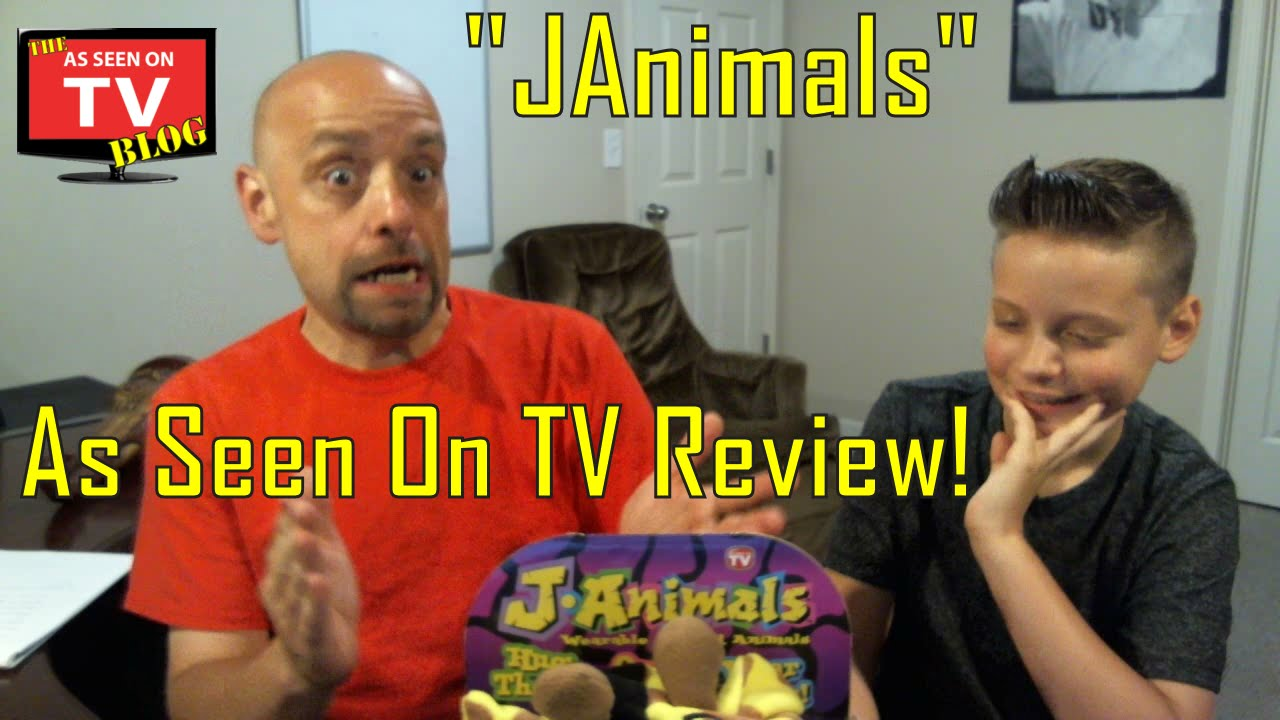 as seen on tv janimals review with nick and shane youtube. Black Bedroom Furniture Sets. Home Design Ideas