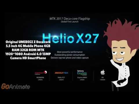 UMIDIGI Z Deca core  4GB RAM Android 6.0 телефон с aliexpress смартфон - Dauer: 0:57