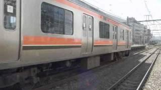 配9432レ 武蔵野線用 209系500番台 M73編成 配給輸送 入線~発車