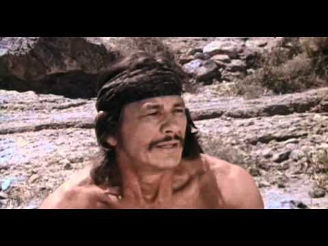 Charles Bronson's body was probably carved from the side of a mountain