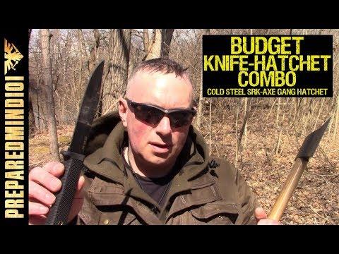 A Good Budget Knife/Hatchet Combo? Part 1 - Preparedmind101