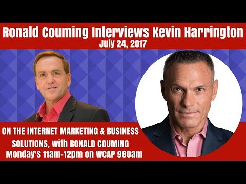 Ronald Couming interviews Kevin Harrington, Globe Innovator and Entrepreneur, July 24th, 2017