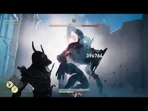 Assassins Creed Odyssey Fate of Atlantis Final Boss  