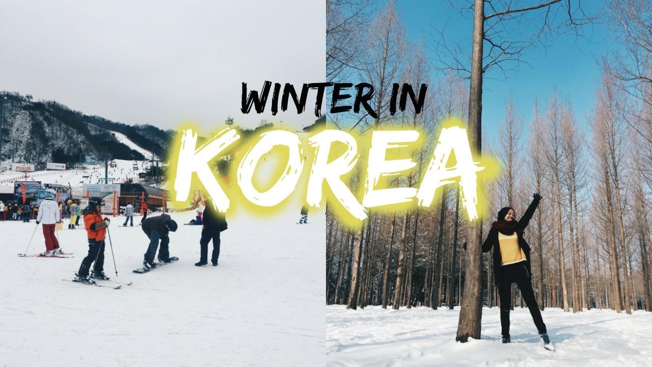 beautiful winter in korea youtube. Black Bedroom Furniture Sets. Home Design Ideas