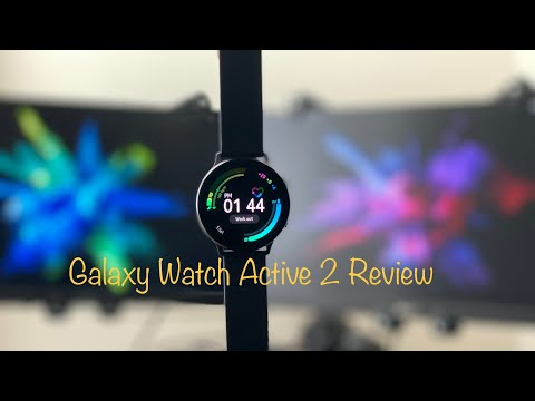 Galaxy Watch Active 2 Full Review + Accuracy & Battery