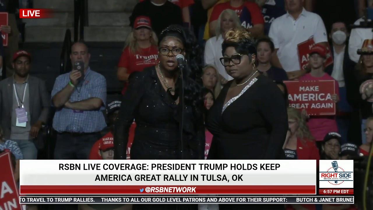 Diamond & Silk EXPLOSIVE Speech at Trump Rally in Tulsa, OK 6/20/20