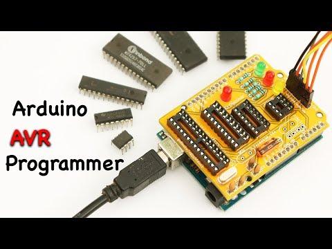 Arduino AVR ISP Programmers  ( Program Maximum AVR IC )