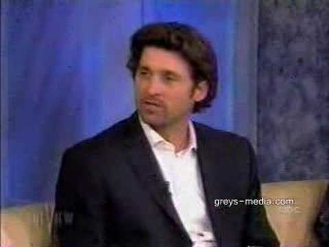 Patrick Dempsey on the view