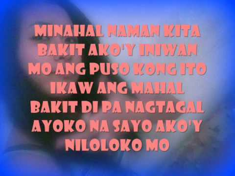 "Like a Rose (Tagalog Version) with Lyrics ""Nasasaktan na ako"" by: ARIEL AGASA"