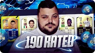190 FUT DRAFT CHALLENGE !!! NEW RECORD ??? [FIFA 17]