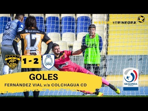 GOLES / FERNÁNDEZ VIAL (1) v/s COLCHAGUA CD (2) / SEGUNDA DIVISIÓN 2019