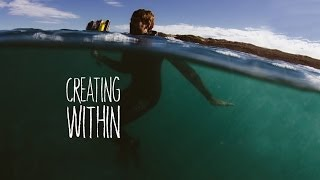 CREATING WITHIN - An incredible journey inside waves