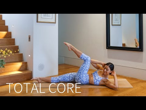 20 MIN TOTAL CORE WORKOUT || At-Home Pilates Abs