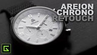 Areion Chronograph Watch - Retouching