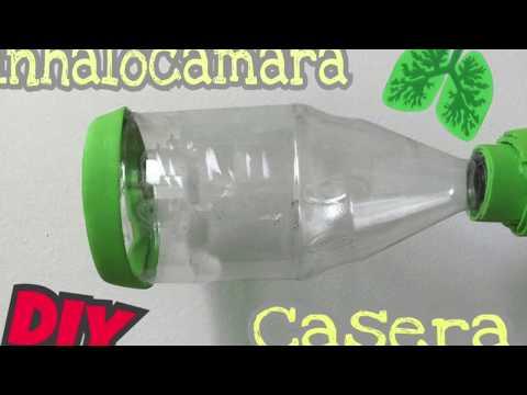 Inhalocámara casera DIY