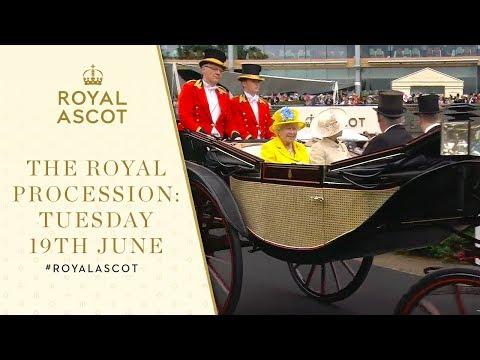 The Royal Procession Tuesday 19th June | Royal Ascot 2018