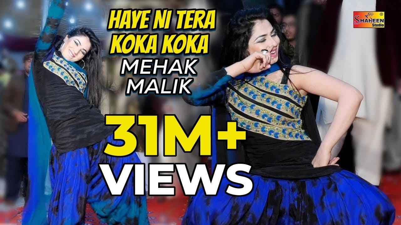 Mehak Malik New Song Haye Ni Tera Koka Koka Shaheen Studio
