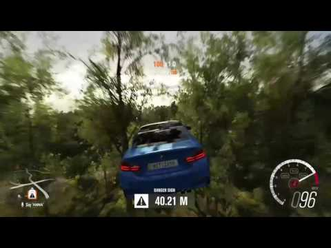 Danger signs (Forza Horizon 3)