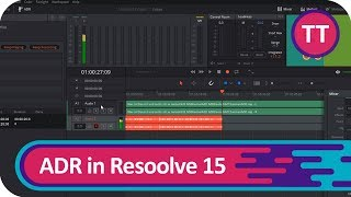 ADR (Nachvertonung) in Resolve 15 | Tutorial [Deutsch/German]