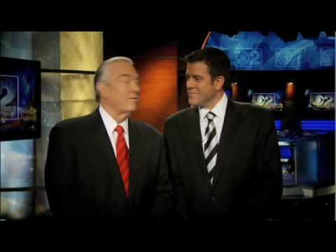 CBS 2's Rob Johnson announces Bill Kurtis and Walter Jacobson will fill in.
