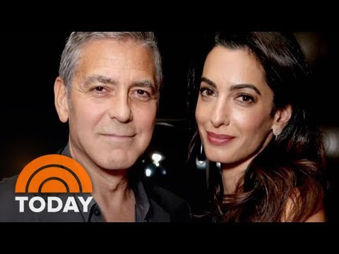 George Clooney And Amal Clooney Receive Well-Wishes After Birth Of Twins | TODAY